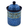 8-inch Stoneware Cookie Jar - Polmedia Polish Pottery H8231J