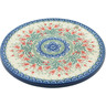 8-inch Stoneware Cutting Board - Polmedia Polish Pottery H0414I