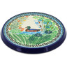 8-inch Stoneware Cutting Board - Polmedia Polish Pottery H1526K