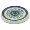 8-inch Stoneware Cutting Board - Polmedia Polish Pottery H4952A