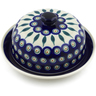 8-inch Stoneware Dish with Cover - Polmedia Polish Pottery H0870A