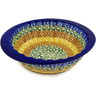 8-inch Stoneware Fluted Bowl - Polmedia Polish Pottery H0186D