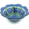 8-inch Stoneware Fluted Bowl - Polmedia Polish Pottery H3396H
