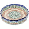 8-inch Stoneware Fluted Pie Dish - Polmedia Polish Pottery H7191C