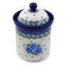 8-inch Stoneware Jar with Lid - Polmedia Polish Pottery H0781I