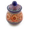 8-inch Stoneware Jar with Lid - Polmedia Polish Pottery H4053J