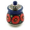 8-inch Stoneware Jar with Lid - Polmedia Polish Pottery H5390I