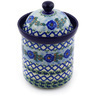 8-inch Stoneware Jar with Lid - Polmedia Polish Pottery H5593E