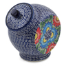 8-inch Stoneware Jar with Lid - Polmedia Polish Pottery H6679K