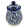 8-inch Stoneware Jar with Lid - Polmedia Polish Pottery H7301K