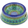 8-inch Stoneware Pet Bowl - Polmedia Polish Pottery H5885G