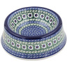 8-inch Stoneware Pet Bowl - Polmedia Polish Pottery H8887K