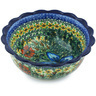 8-inch Stoneware Scalloped Bowl - Polmedia Polish Pottery H5092H