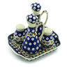8-inch Stoneware Seasoning Set - Polmedia Polish Pottery H5462J