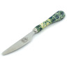 8-inch Stoneware Stainless Steel Knife - Polmedia Polish Pottery H4471I