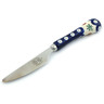 8-inch Stoneware Stainless Steel Knife - Polmedia Polish Pottery H4472I