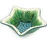 8-inch Stoneware Star Shaped Bowl - Polmedia Polish Pottery H6211G
