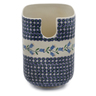 8-inch Stoneware Toilet Brush Holder - Polmedia Polish Pottery H6763K