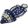 8-inch Stoneware Wall Pocket - Polmedia Polish Pottery H0256A