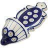 8-inch Stoneware Wall Pocket - Polmedia Polish Pottery H0258A