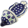 8-inch Stoneware Wall Pocket - Polmedia Polish Pottery H4318J