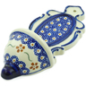 8-inch Stoneware Wall Pocket - Polmedia Polish Pottery H4333J