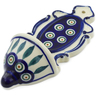 8-inch Stoneware Wall Pocket - Polmedia Polish Pottery H4374J