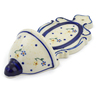 8-inch Stoneware Wall Pocket - Polmedia Polish Pottery H4415J