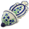 8-inch Stoneware Wall Pocket - Polmedia Polish Pottery H4475J