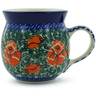 8 oz Stoneware Bubble Mug - Polmedia Polish Pottery H0929B