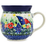 8 oz Stoneware Bubble Mug - Polmedia Polish Pottery H0946L