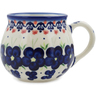 8 oz Stoneware Bubble Mug - Polmedia Polish Pottery H0980L