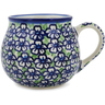 8 oz Stoneware Bubble Mug - Polmedia Polish Pottery H0989L