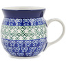 8 oz Stoneware Bubble Mug - Polmedia Polish Pottery H1000B