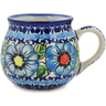 8 oz Stoneware Bubble Mug - Polmedia Polish Pottery H1051L