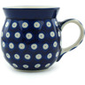 8 oz Stoneware Bubble Mug - Polmedia Polish Pottery H1075B