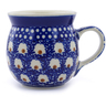 8 oz Stoneware Bubble Mug - Polmedia Polish Pottery H1099B