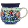 8 oz Stoneware Bubble Mug - Polmedia Polish Pottery H1482L