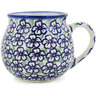8 oz Stoneware Bubble Mug - Polmedia Polish Pottery H1562L