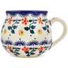 8 oz Stoneware Bubble Mug - Polmedia Polish Pottery H1574L