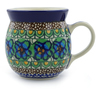 8 oz Stoneware Bubble Mug - Polmedia Polish Pottery H2491A