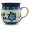 8 oz Stoneware Bubble Mug - Polmedia Polish Pottery H2494A