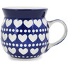 8 oz Stoneware Bubble Mug - Polmedia Polish Pottery H2506A