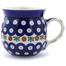 8 oz Stoneware Bubble Mug - Polmedia Polish Pottery H2536A