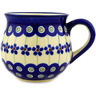 8 oz Stoneware Bubble Mug - Polmedia Polish Pottery H2591D