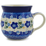 8 oz Stoneware Bubble Mug - Polmedia Polish Pottery H3490K