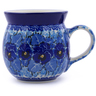 8 oz Stoneware Bubble Mug - Polmedia Polish Pottery H3889I