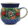 8 oz Stoneware Bubble Mug - Polmedia Polish Pottery H3981K
