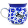 8 oz Stoneware Bubble Mug - Polmedia Polish Pottery H4058D
