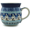 8 oz Stoneware Bubble Mug - Polmedia Polish Pottery H4080B
